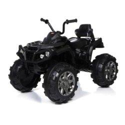 Электроквадроцикл Grizzly 2WD (АКБ 12v10ah, колеса резина, сиденье кожа, пульт, музыка)